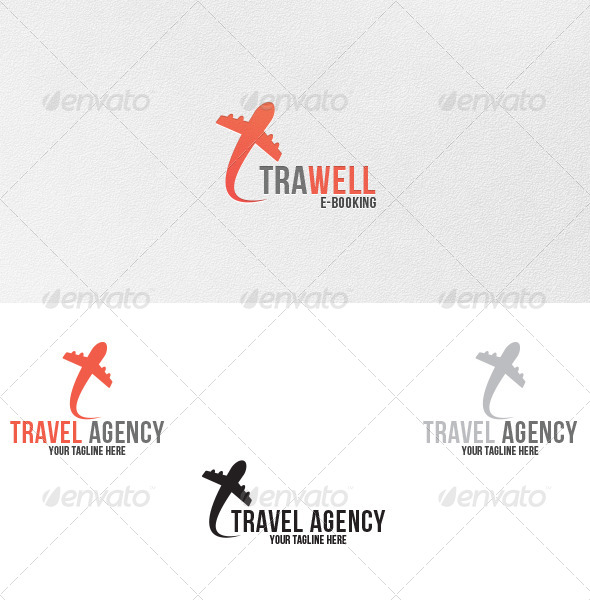 GraphicRiver Travel Agency Logo Template 4947186