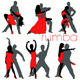 Rumba Dancers Set - GraphicRiver Item for Sale
