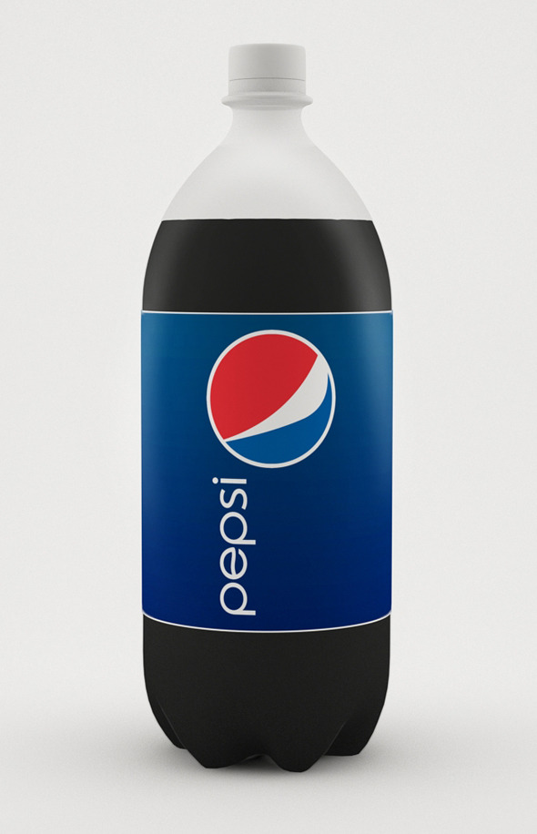 3DOcean 3D Pepsi Bottle 4947269