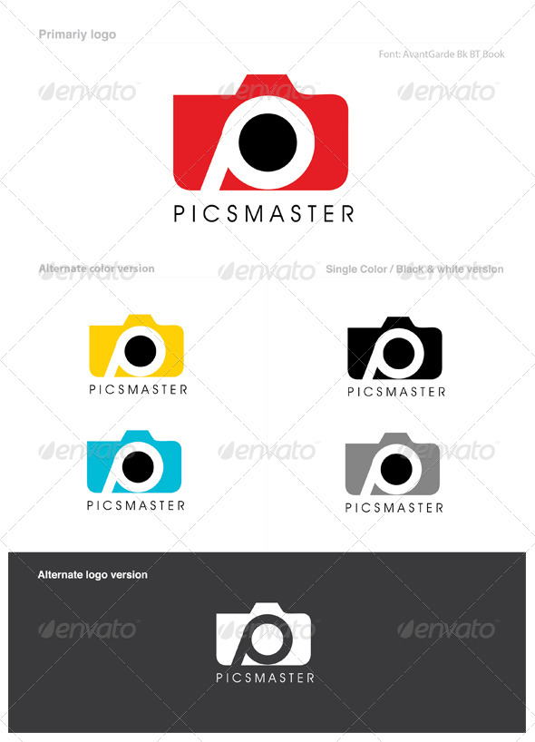 GraphicRiver Photography Logo 4933727