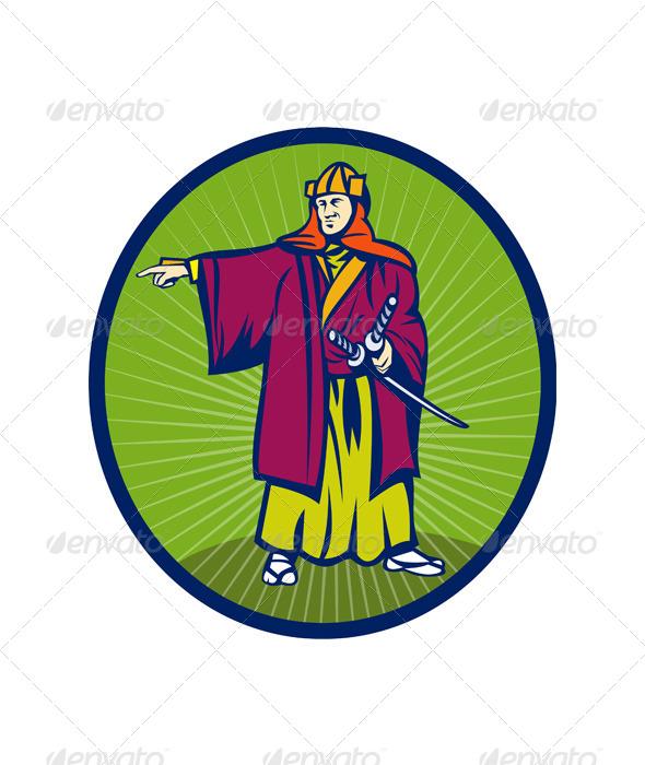 GraphicRiver Samurai Warrior Sword 4947880