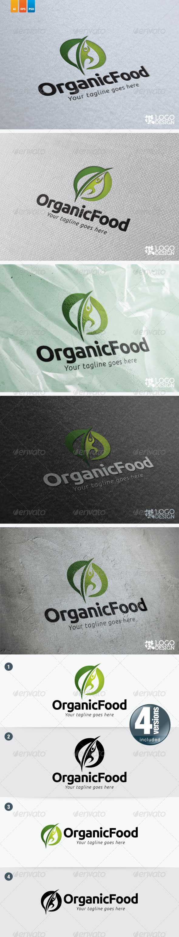 Organic Food - Nature Logo Templates