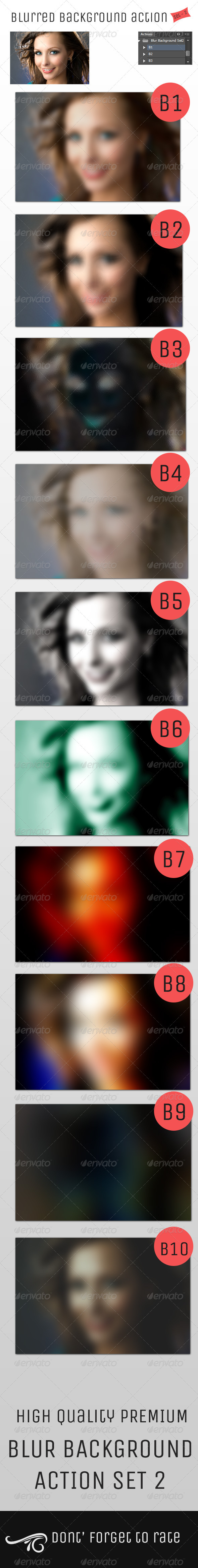 GraphicRiver Blur Background Action Set V2 4947953