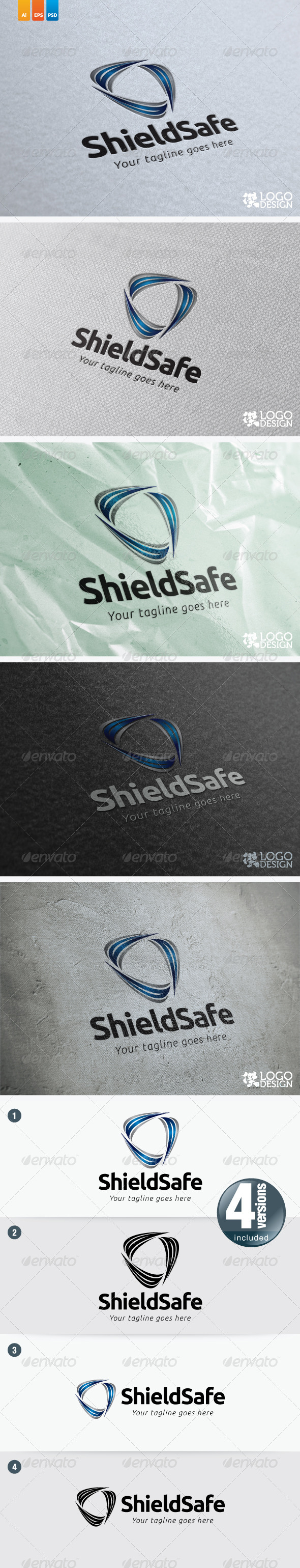 Shield Safe - Symbols Logo Templates