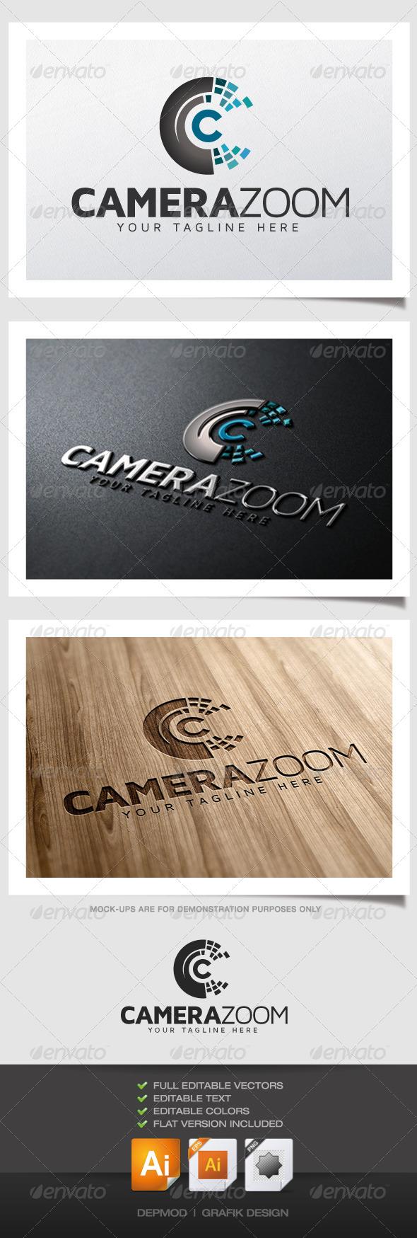 GraphicRiver Camera Zoom Logo 4948075