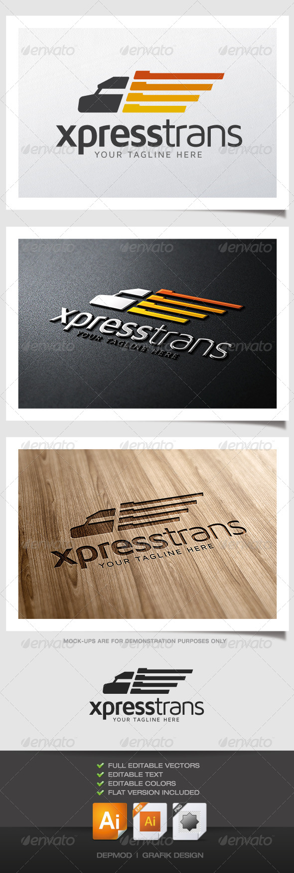 GraphicRiver Xpress Trans Logo 4948078