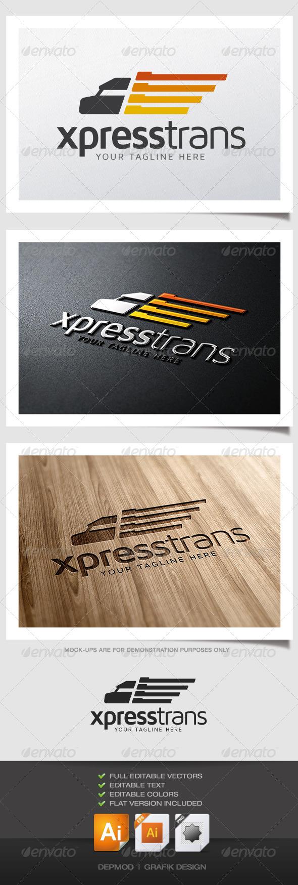 Xpress Trans Logo - Symbols Logo Templates