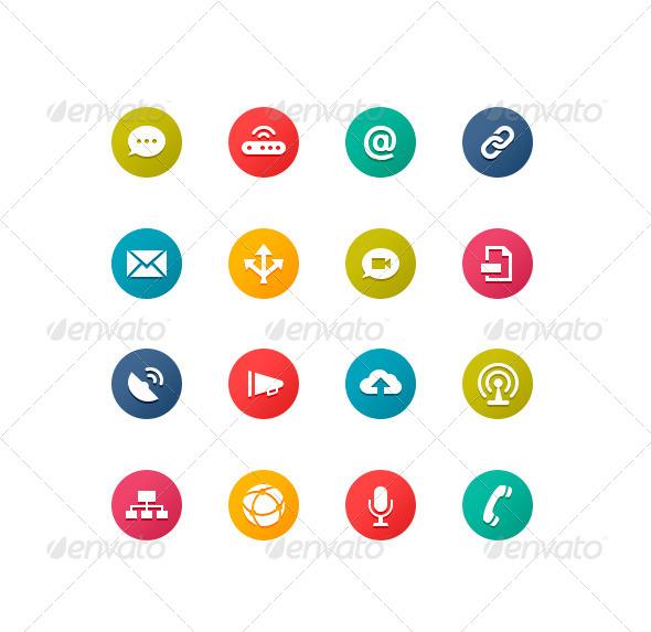 GraphicRiver Communication Symbols 4948081