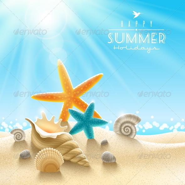 GraphicRiver Summer Holidays Illustration 4948087