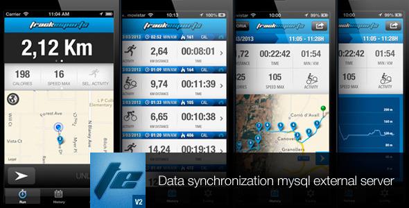 CodeCanyon Track Sports Pro V2 Full App 4948110