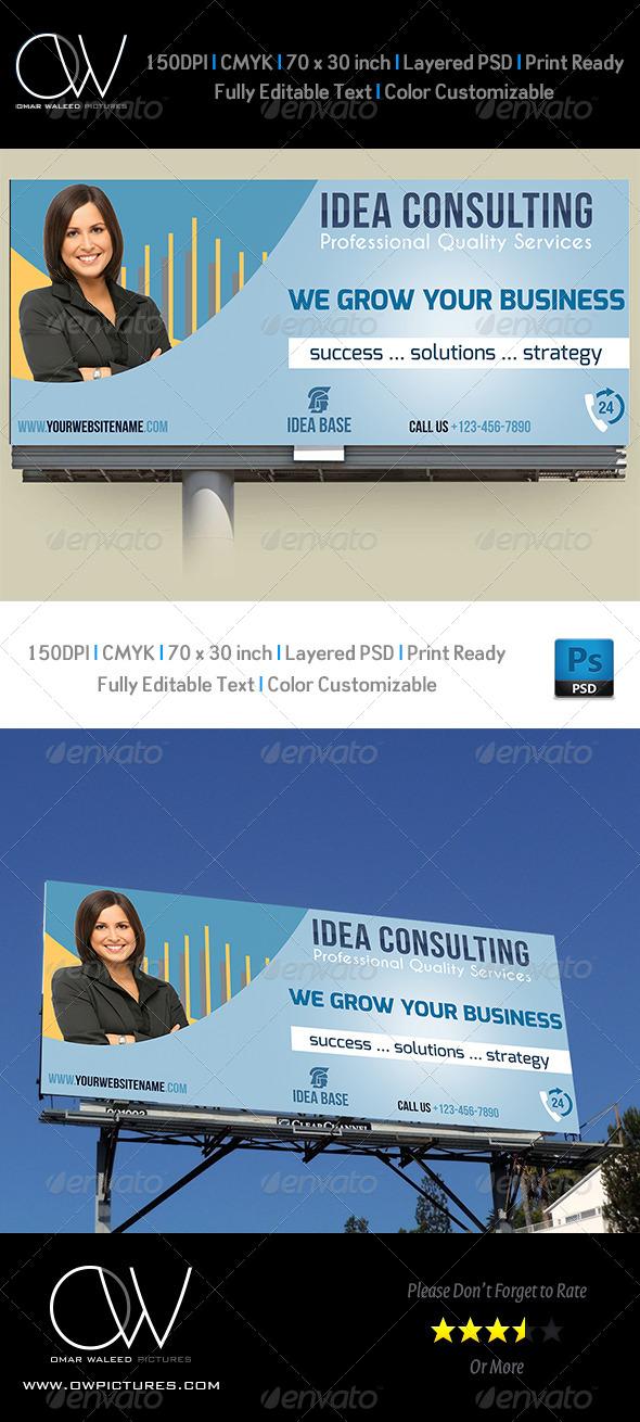GraphicRiver Corporate Business Billboard Template Vol.2 4883027