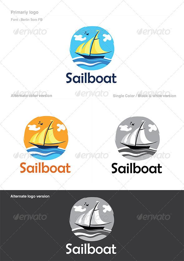 GraphicRiver Boat Logo 4948139
