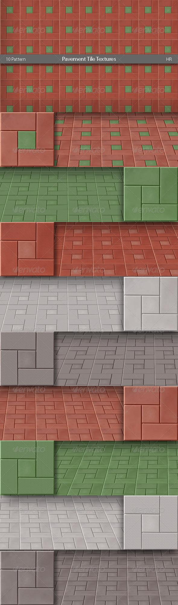 3DOcean Pavement Tile Textures 4948176