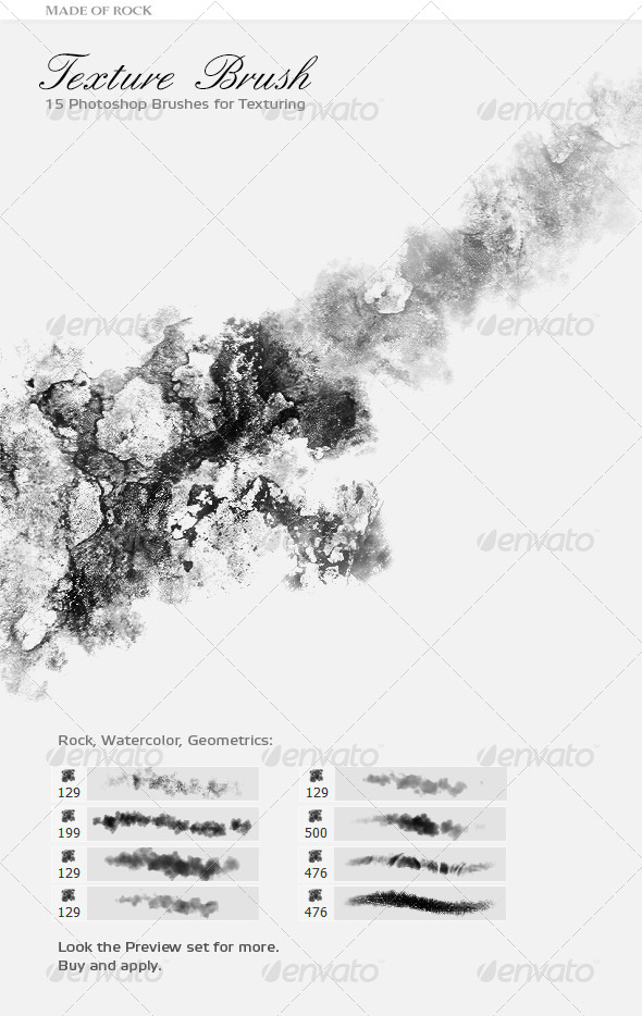 GraphicRiver Dynamic Texture Brush Set 4948275