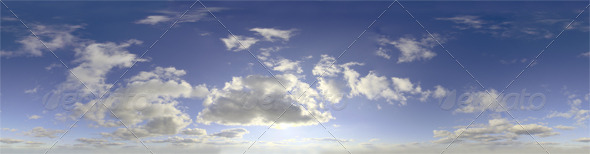3DOcean Skydome HDRI Day Clouds III 4948334