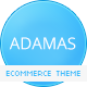 Adamas – Responsive Ecommerce WordPress Theme
