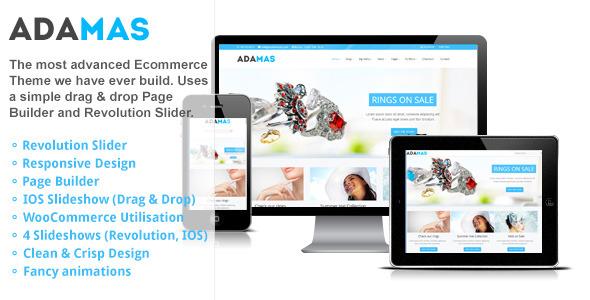 Adamas - Responsive WooCommerce Shop