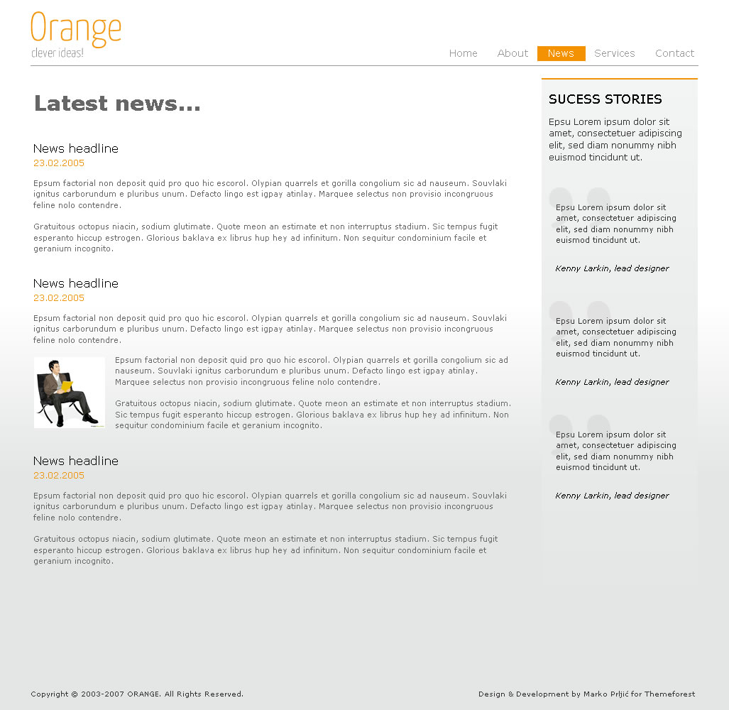 Orange Marketing