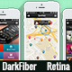 DarkFiber UI Retina 40+ Screens Mobile App Phone - GraphicRiver Item for Sale