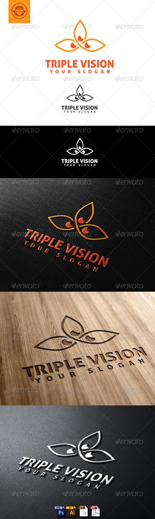 GraphicRiver Triple Vision Logo Template 4948440