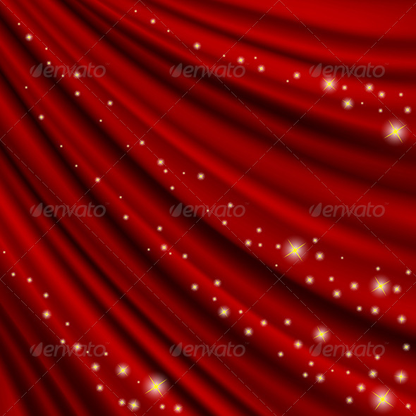 GraphicRiver Theater Curtain Mesh 4948464