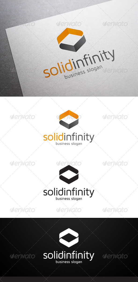 GraphicRiver Solid Infinity Logo 4946563