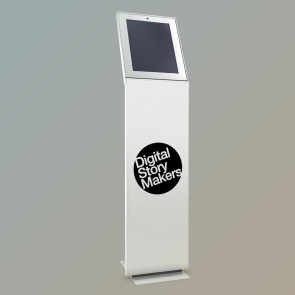 3DOcean Kiosk Net Point V1 Mental Ray 510731