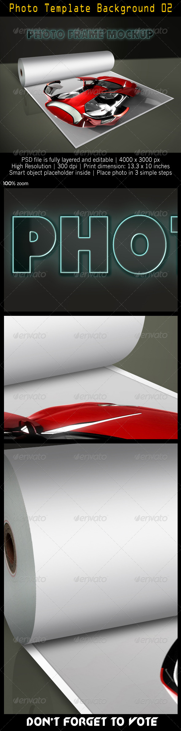 GraphicRiver Photo Template Background 02 4948091