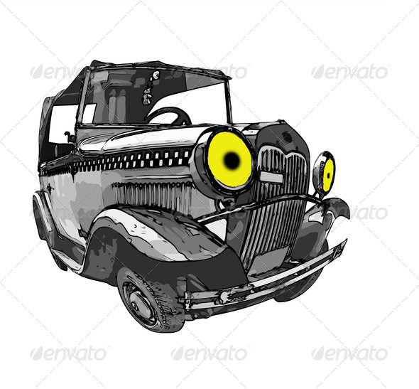Magic car - Stock Photo - Images