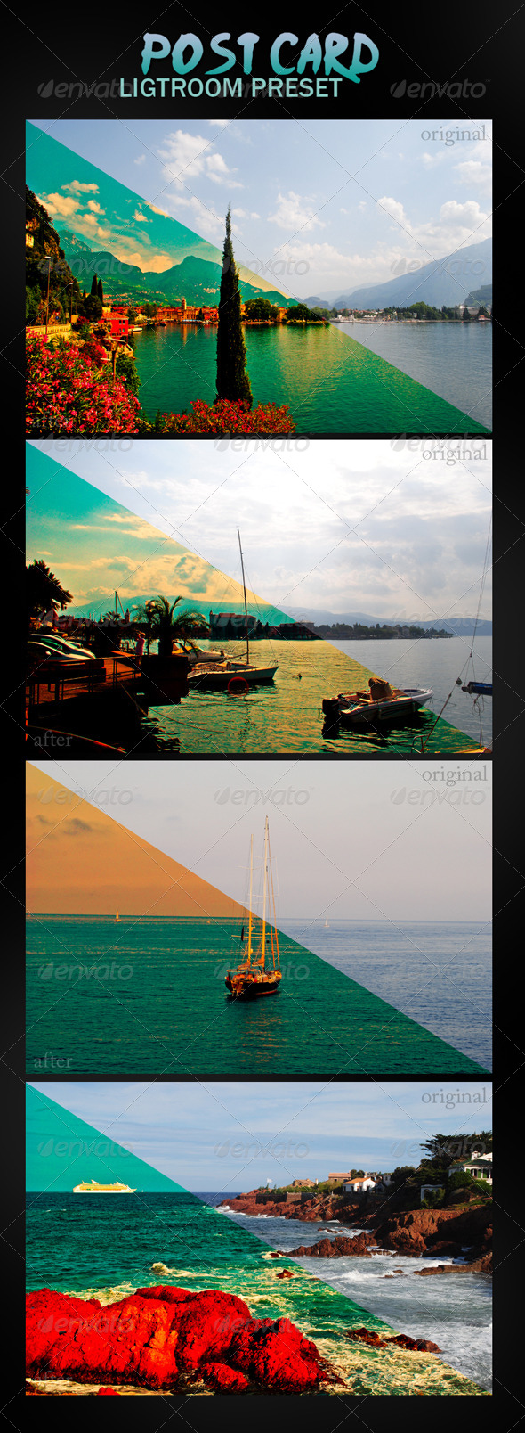 GraphicRiver Post Card Lightroom Preset 4903579