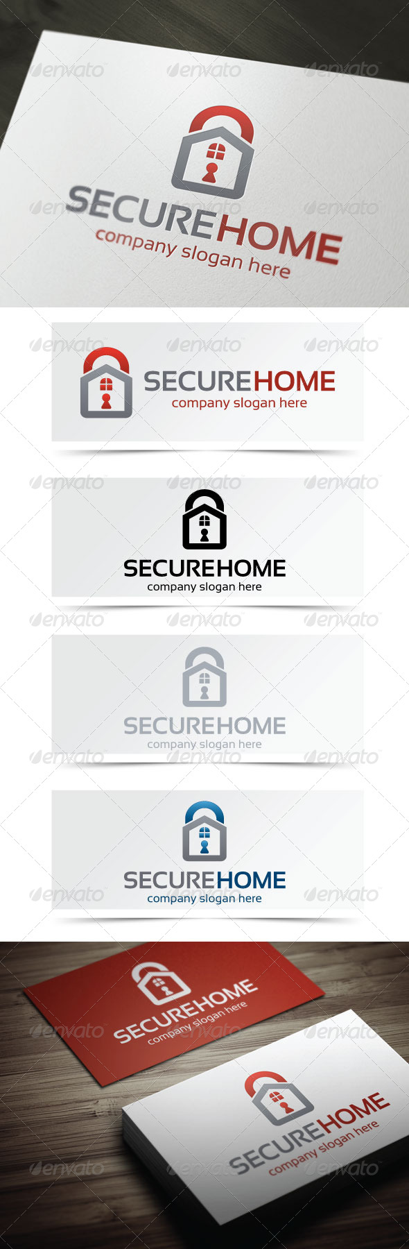 GraphicRiver Secure Home 4949362