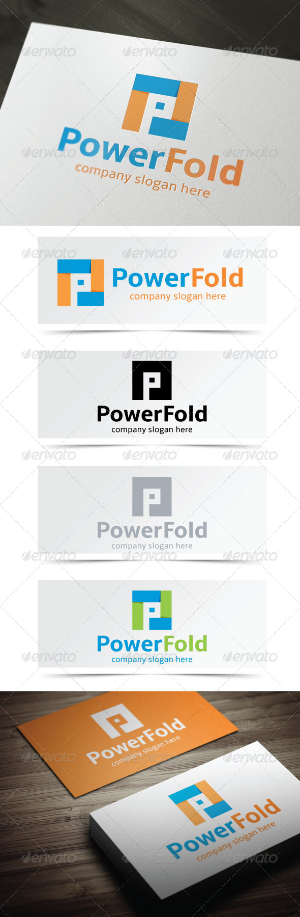 GraphicRiver Power Fold 4949458
