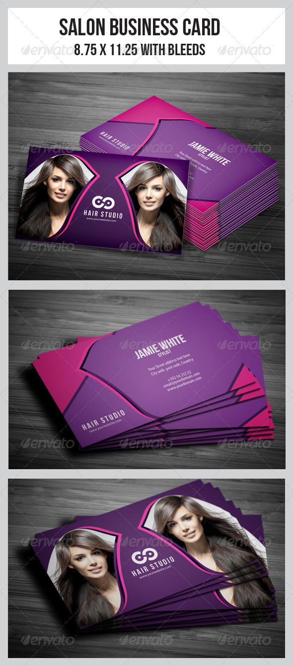 GraphicRiver Salon Business Card Vol.4 4949667