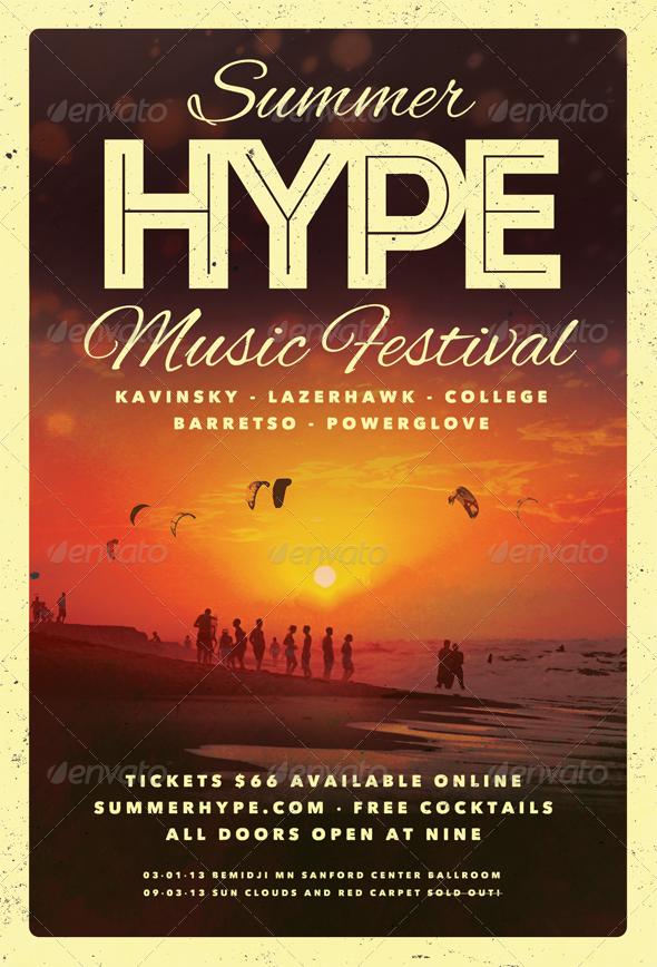 Summer Hype - Summer Flyer Template