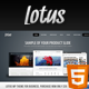 Lotus Template For Business Software Corporate - ThemeForest Item for Sale