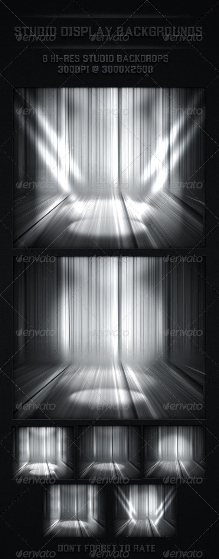 GraphicRiver Studio Back Drop Spot Light Backgrounds 4954752