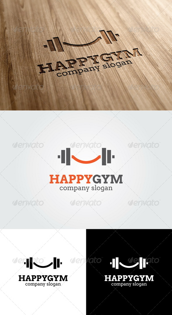 Happy Gym Logo