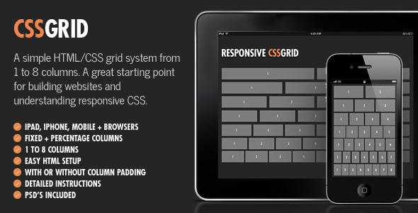 CodeCanyon Responsive CSS Grid 4928861