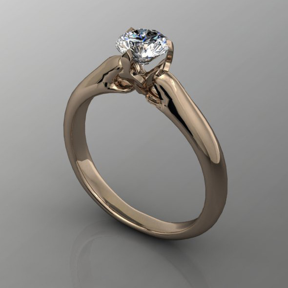 Diamond Ring NRC7 - 3DOcean Item for Sale