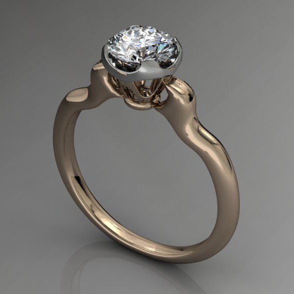 3DOcean Diamond Ring NRC13 4956189