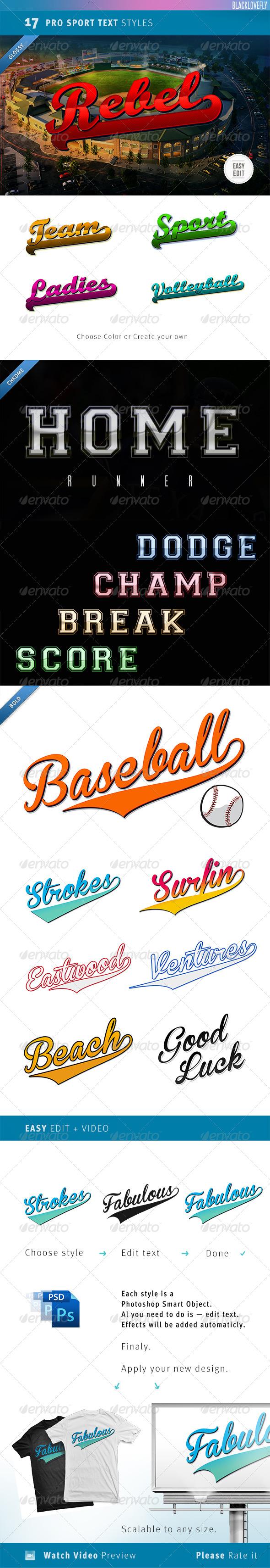 GraphicRiver Sport Text Creator 4957018