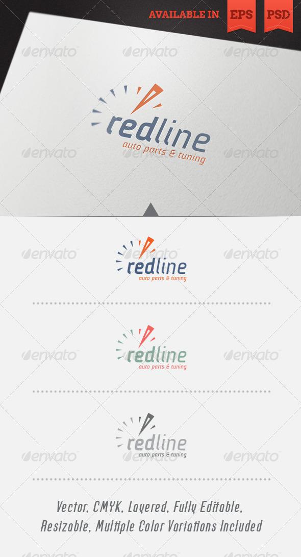 GraphicRiver Redline Logo Template 4957523