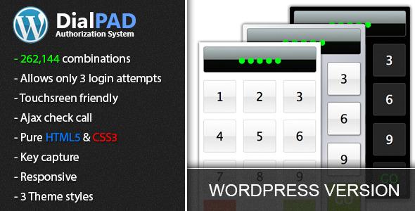CodeCanyon Wordpress DialPAD Authorization System 4957566