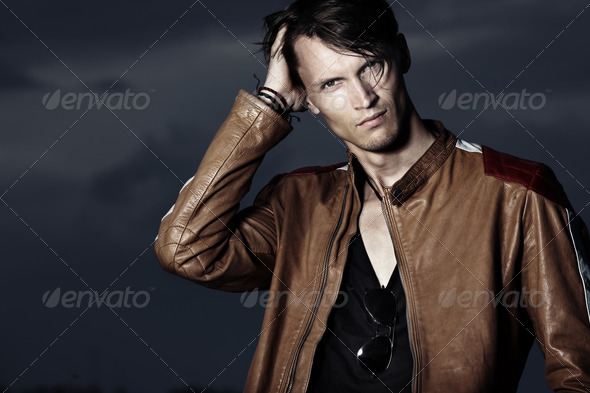 Male beauty - Stock Photo - Images