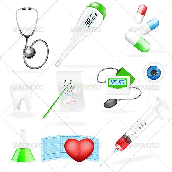 GraphicRiver Medical Set 4959069