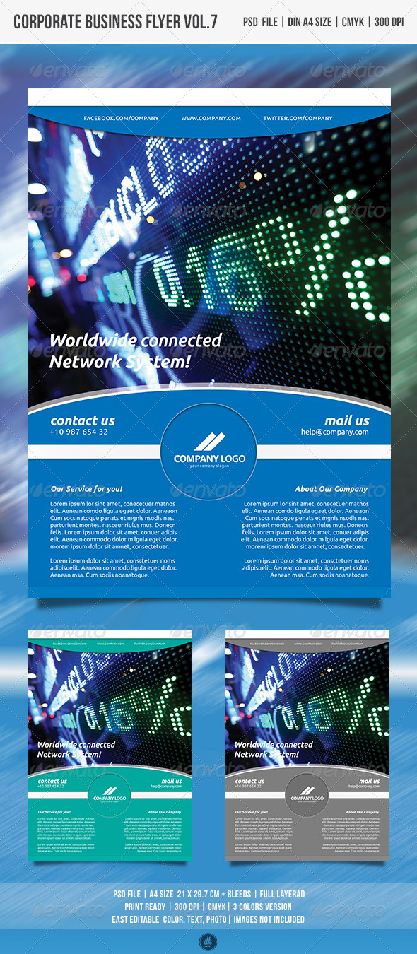 GraphicRiver Corporate Business Flyer.7 4959235