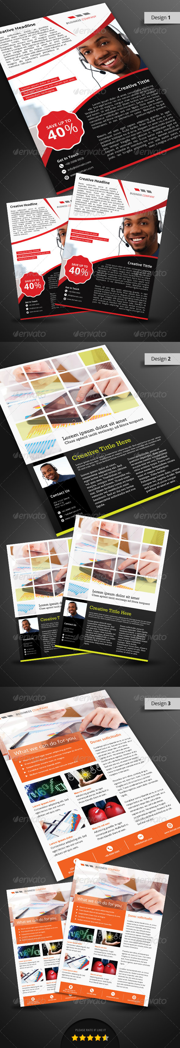 GraphicRiver Corporate Flyer Pack 4959470
