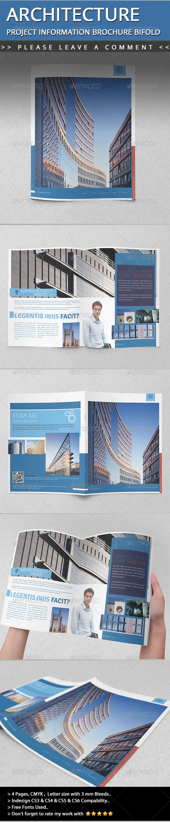GraphicRiver Architecture Project Information Brochure Bifold 4959632