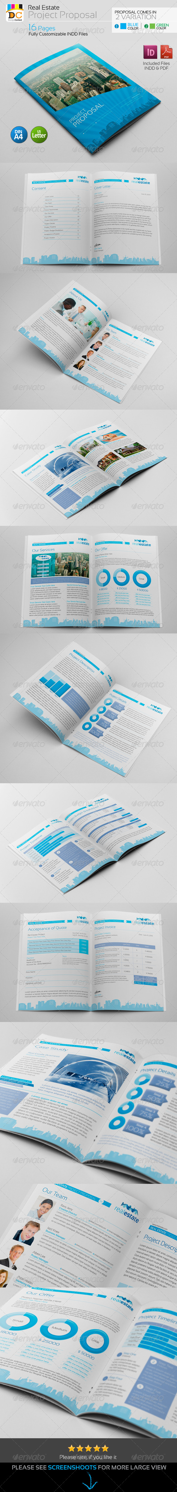 GraphicRiver Real Estate Corporate Clean Project Proposal 4960287
