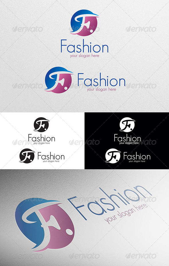 GraphicRiver Fashion Logo 4960470